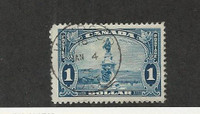 Canada, Postage Stamp, #227 Used, 1935 Champlain Monument