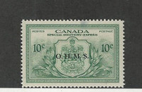 Canada, Postage Stamp, #EO1 Small Thin Mint Hinged, 1950