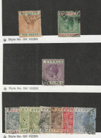 Cyprus, Postage Stamp, #61a, 62, 74, 89, 91-94, 96, 99 Used, 1912-28