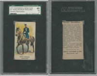 E5 Dockman, Military Caramels, 1914, England King George, SGC 40 VG