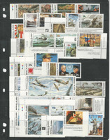 Marshall Islands Collection of Mint NH Stamps, World War II Issues, 1990-1