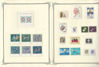 Poland Stamp Collection 1989-1990 on 10 Scott Specialty Pages, Mint NH