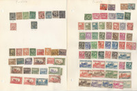 Tunisia Stamp Collection 1888 to 1988 on 14 Pages