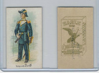 B118-0 British Am. Tobacco, Siamese Uniforms, 1915, Eagle Cigarettes (D)