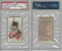 E1 Breisch, Army Cards, 1910, #1 Austria-Hungary Body Guard, PSA 3 VG