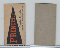 F Card ,1940's Quaker, College Pennants, Princeton University, Tigers