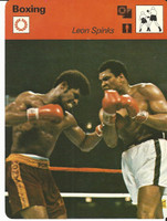 1977-79 Sportscaster Card, #62.08 Boxing, Leon Spinks, ZQL