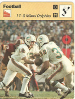 1977-79 Sportscaster Card, #63.02 Football, Bob Griese, Dolphins, ZQL