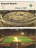 1977-79 Sportscaster Card, #63.15 Beyond Sports, Moscow, ZQL