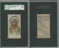 E49 American Caramel, Wild West, 1920's, Always Riding, SGC 10
