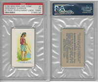 E196 New England, Strange People Many Lands, 1940's, #1 Mindanao, PSA 5 MK EX