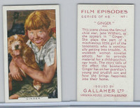 G12-84 Gallaher, Film Episodes, 1936, #1 Ginger, Jame Withers