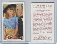 G12-84 Gallaher, Film Episodes, 1936, #13 Chasing Yesterday, Anne Shirley