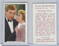 G12-84 Gallaher, Film Episodes, 1936, #14 Doubting Thomas, Will Rogers