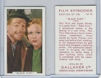 G12-84 Gallaher, Film Episodes, 1936, #15 Black Fury, Paul Muni, Karen Morley