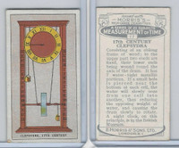 M142-25 Morris, Measurements of Time, 1924, #17 17th Century Clepsydra