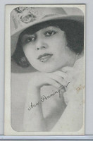W Card, Kromo Gravure Silent Movie Stars, 1920, Ann Pennington