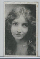 W Card, Kromo Gravure Silent Movie Stars, 1920, Bessie Love
