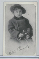 W Card, Kromo Gravure Silent Movie Stars, 1920, Bobby Connelly