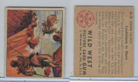 1949 Bowman, Wild West, #A-2 Louisiana Is Ours