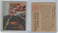 1949 Bowman, Wild West, #A-29 Indians Attack Iron Horse