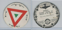 M30 St. Louis Globe, Seal Craft Disc, 1930's, Aircraft Ins., #11 Mexico (B)