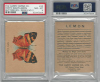 FC2, Harry Horne Co, Butterflies, 1920's Canada, # Forty Eight, PSA 8 NMMT