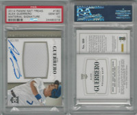 2014 Panini National Baseball, #180 A Guerrero AUTO RC, Dodgers, PSA 10 Gem