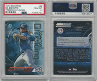 2018 Bowman Chrome Baseball, #BB Bo Bichette RC, Blue Jays, PSA 10 Gem