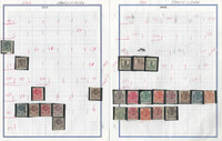 Spanish Guinea Stamp Collection 1906-1917 on 3 Pages