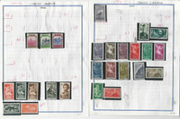Spanish Sahara Stamp Collection 1924-1971 on 12 Pages