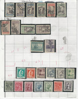 Spanish Tangier Stamp Collection 1930-1951 on 2 Pages