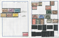 Spanish West Africa Stamp Collection 1948 to 1966 on 11 Pages