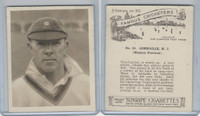 H46-54 Hill Tobacco, Famous Cricketers, 1925, #13 M.J. Commaille