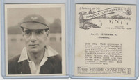 H46-54 Hill Tobacco, Famous Cricketers, 1925, #17 H. Sutcliffe, Yorkshire