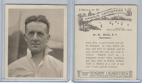 H46-54 Hill Tobacco, Famous Cricketers, 1925, #23 P.T. Mills, Gloucester