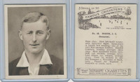 H46-54 Hill Tobacco, Famous Cricketers, 1925, #38 J.C. White, Somerset