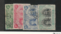 Rhodesia, Postage Stamp, #101-102, 104, 111 Used, 1910