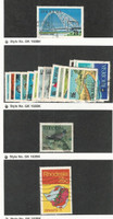 Rhodesia, Postage Stamp, #274//313 Used, 1969-1971