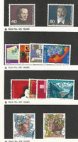 Switzerland, Postage Stamp, #685-6, 687-90 Mint NH, 750-2, 754, 777-8 Used
