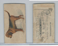 N163 Goodwin, Dogs of World, 1890, Bloodhound (Trim)