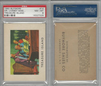 1960 Buymore W527, Treasure Island, Pirate, #14 Dr. Livesey Was With, PSA 8 NMMT