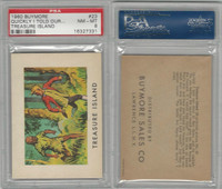 1960 Buymore W527, Treasure Island, #23 Quickly I Told Our Story, PSA 8 NMMT