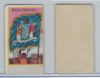 H629 Blank Back, State Flags, 1890's, New Jersey