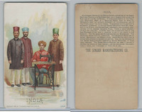 H639 Singer Sewing, Costumes of all Nations, 1892, India Males