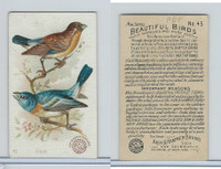 J2, Church & Dwight, Beautiful Birds New Series, 1896, #45 Finch