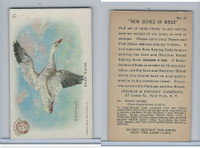 J4, Church & Dwight, New Series of Birds, 1908, #21 Snow Goose
