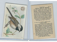 J7, Church & Dwight, Useful Birds America 3rd Ser., 1922, #18 Black-c Chickadee