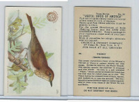 J7, Church & Dwight, Useful Birds America 3rd Ser., 1922, #20 Veery