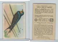 J9-1, Church & Dwight, Useful Birds America 5th Ser., 1925, #10 Barn Swallow